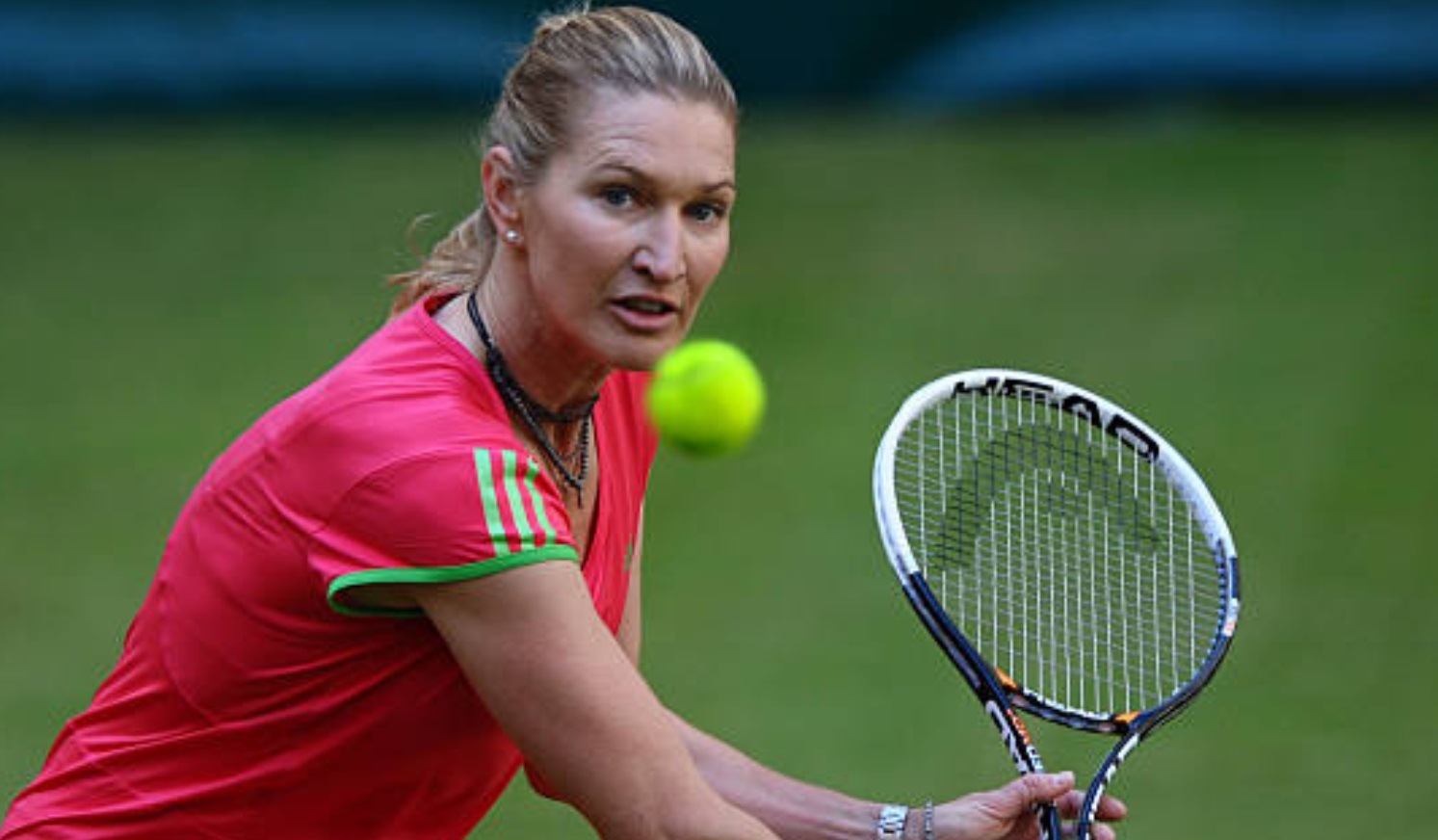 One of the best performers in tennis Steffi Graf