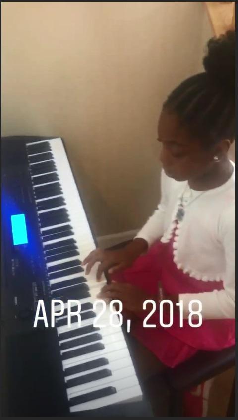 Georgina Onuoha's Daughter Channels Alicia Keys