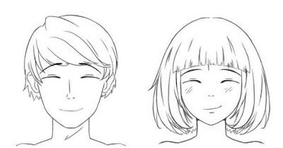 personnages contents qui ont les yeux fermés