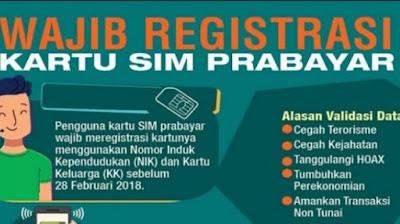 Cara Registrasi Kartu Sim