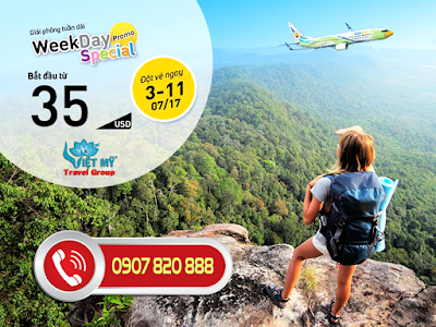 Khuyến mãi Nok Air: Weekday Special Promotion