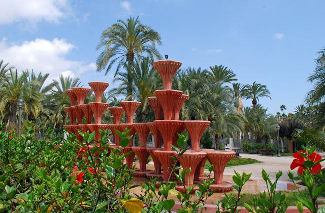 Elche municipal park
