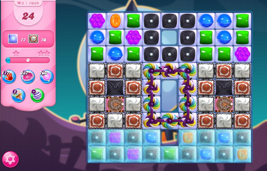 Candy Crush Saga level 7039