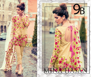 Mina Hassan by Shariq Designer Lawn Collection 2017