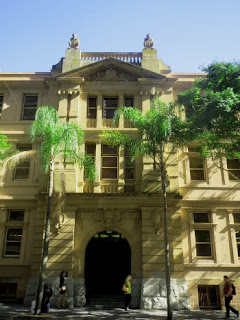 The Old Printing Office, George Street, Brisbane, has been the scene of dubious historical stories.