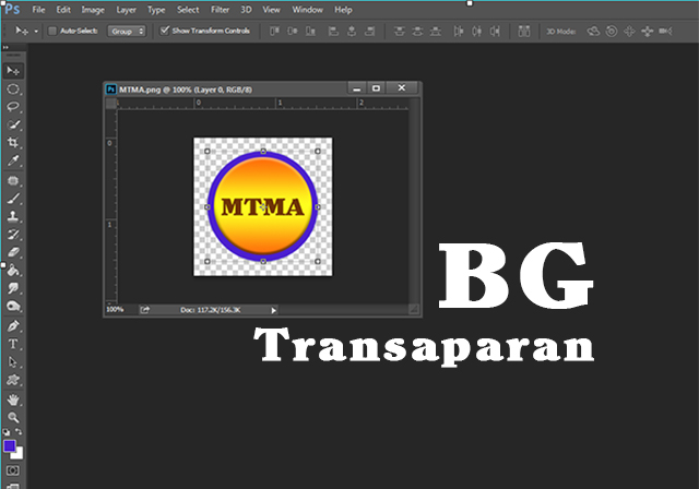 Cara membuat Background Transparan Menggunakan ADOBE