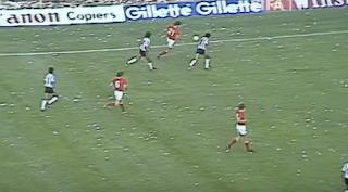 الأرجنتين وبلجيكا مونديال 1982