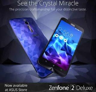 Cara Reset Ulang Asus Zenfone 2 Deluxe SE Lupa Pola dan Pin