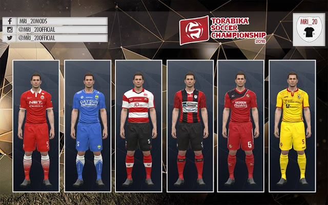 Only Kit and Club Logo (5 Clubs)  Teams   -Persija Jakarta  (Home-Away-HomeAlt-GK) -Semen Padang (Home-Away-GK) -Persib Bandung  (Home-Away-Third-GK) 83ca7e3c9