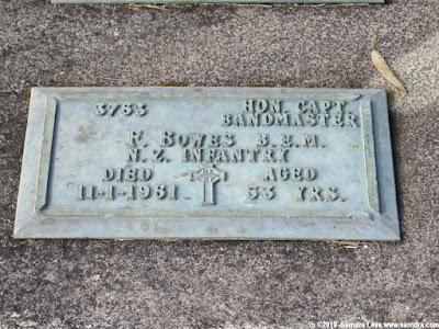 Grave of Frederick BOWES B.E.M.