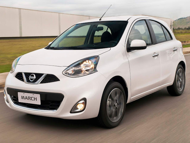 Novo Nissan March 2017 Automático CVT