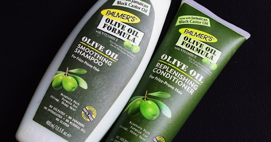 Palmer's Olive Oil Shampoo and Conditioner Review