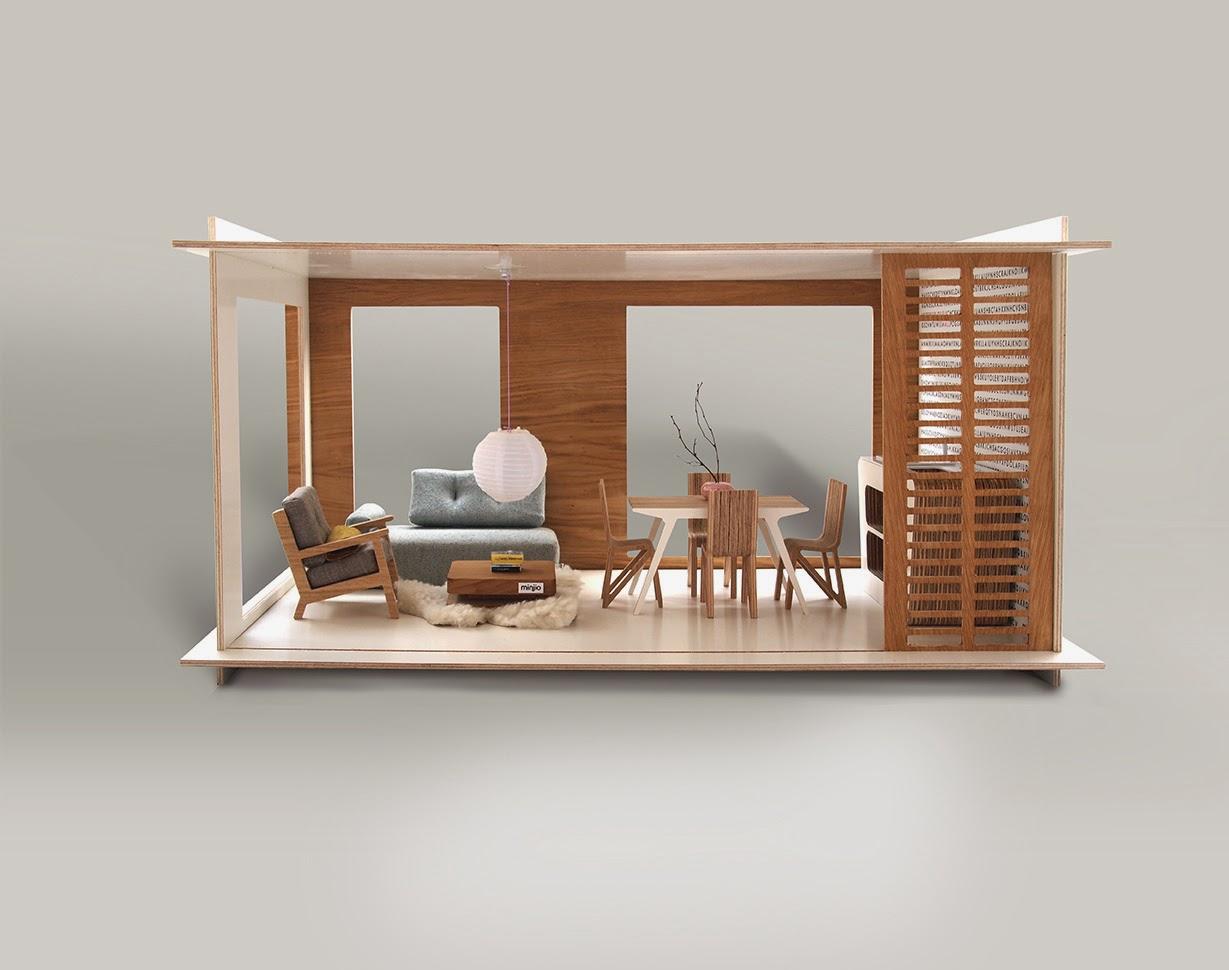 Benvenuta a casa bambola for Riproduzioni mobili design