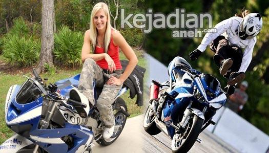 Cewek Jago Freestyle Aksi Freestyle Lady Bikers Cantik Paling Ekstrim