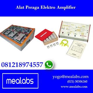 Alat Peraga Amplifier