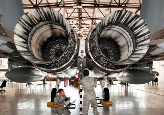 Boeing F-15SE Silent Eagle engine