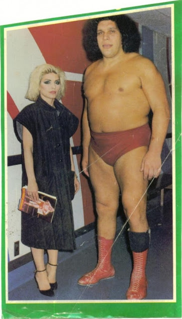 Debbie and André the Giant