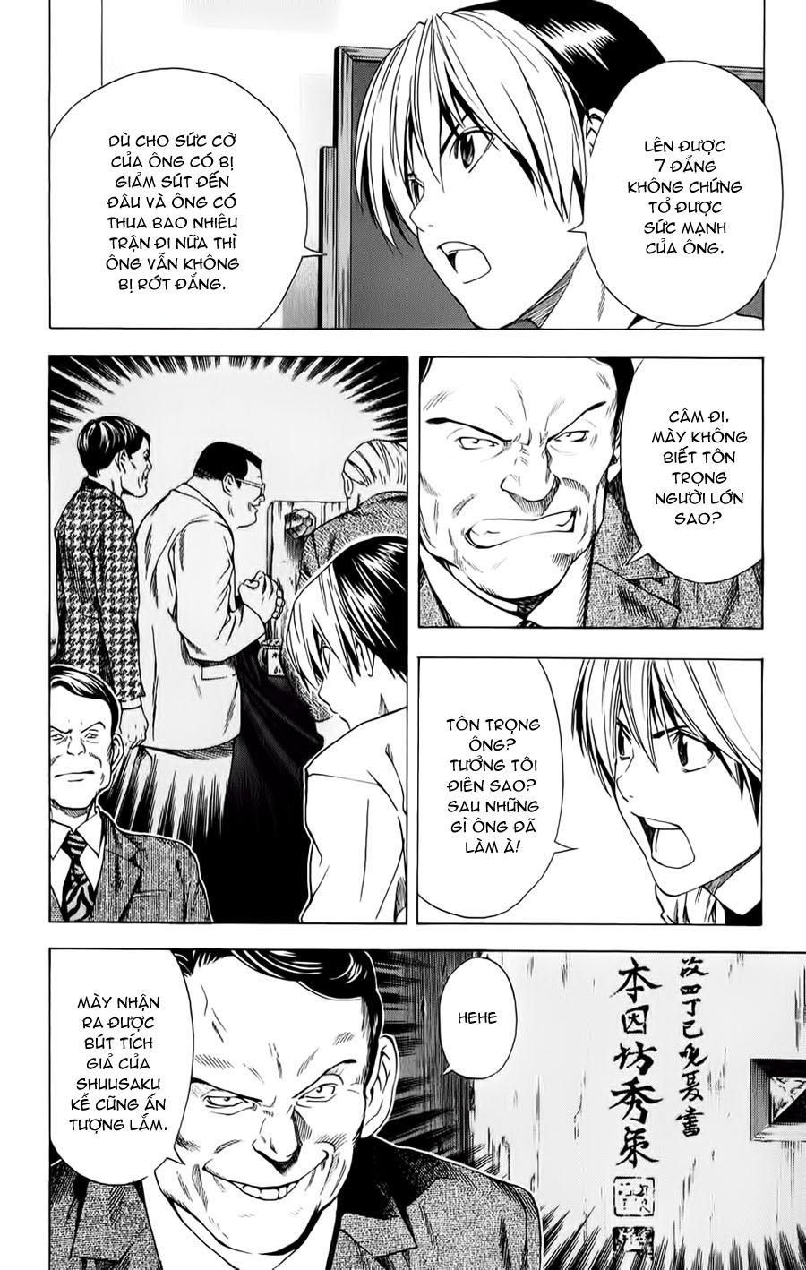 Hikaru No Go hikaru no go chap 152 trang 16
