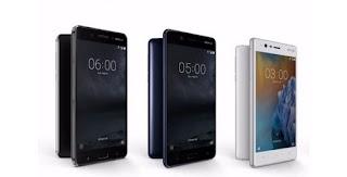 Nokia 3, Nokia 5 dan Nokia 6 Resmi Hadir di Indonesia, Harganya?