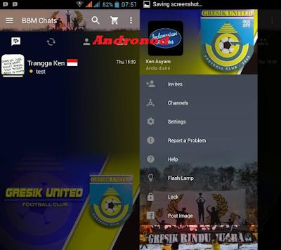 BBM MOD Club Sepakbola GRESIK UNITED Versi 2.11.0.16 APK