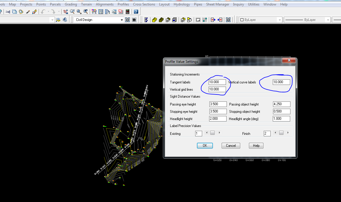 Cara Membuat Cross Section Di Autocad Land Desktop 2009 ...