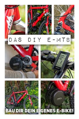 E-Bike-Umbau So baust du dir dein eigenes E-Bike mit Mittelmotor | DIY E-MTB Anleitung zum E-Bike Umbau mit Bafang BBS01 Mittelmotor | E-Bike selber bauen aus altem Mountainbike