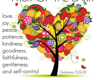 The 'fruit of the Spirit' occurs only one place in the Scriptures.