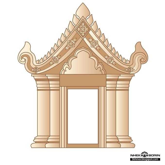 preah vihar temple free vector