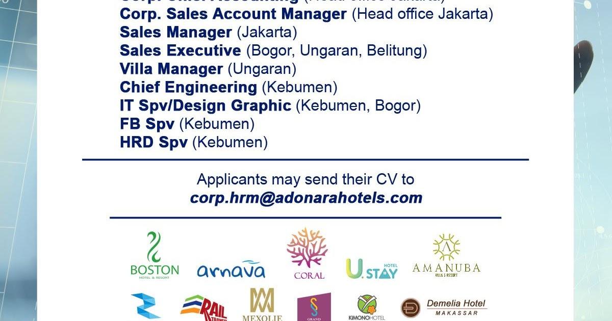 General Manager and Staff for Adonara Group - Hoticom Media ...