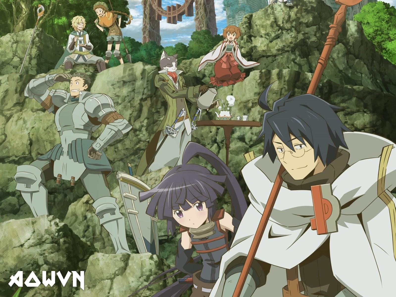 aowvn.org log horizon%2B%25282%2529 - [ Anime 3gp Mp4 ] Log Horizon SS1 + SS2 | Vietsub - Tuyệt Hay
