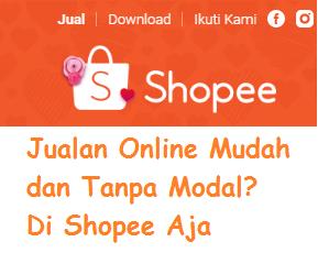 Cara Berjualan Online Di Shopee Tanpa Modal