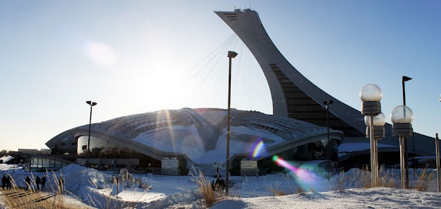 Complexo Olímpico em Montreal