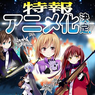 Manga Rifle is Beautiful de Akki Sarumi tendrá anime