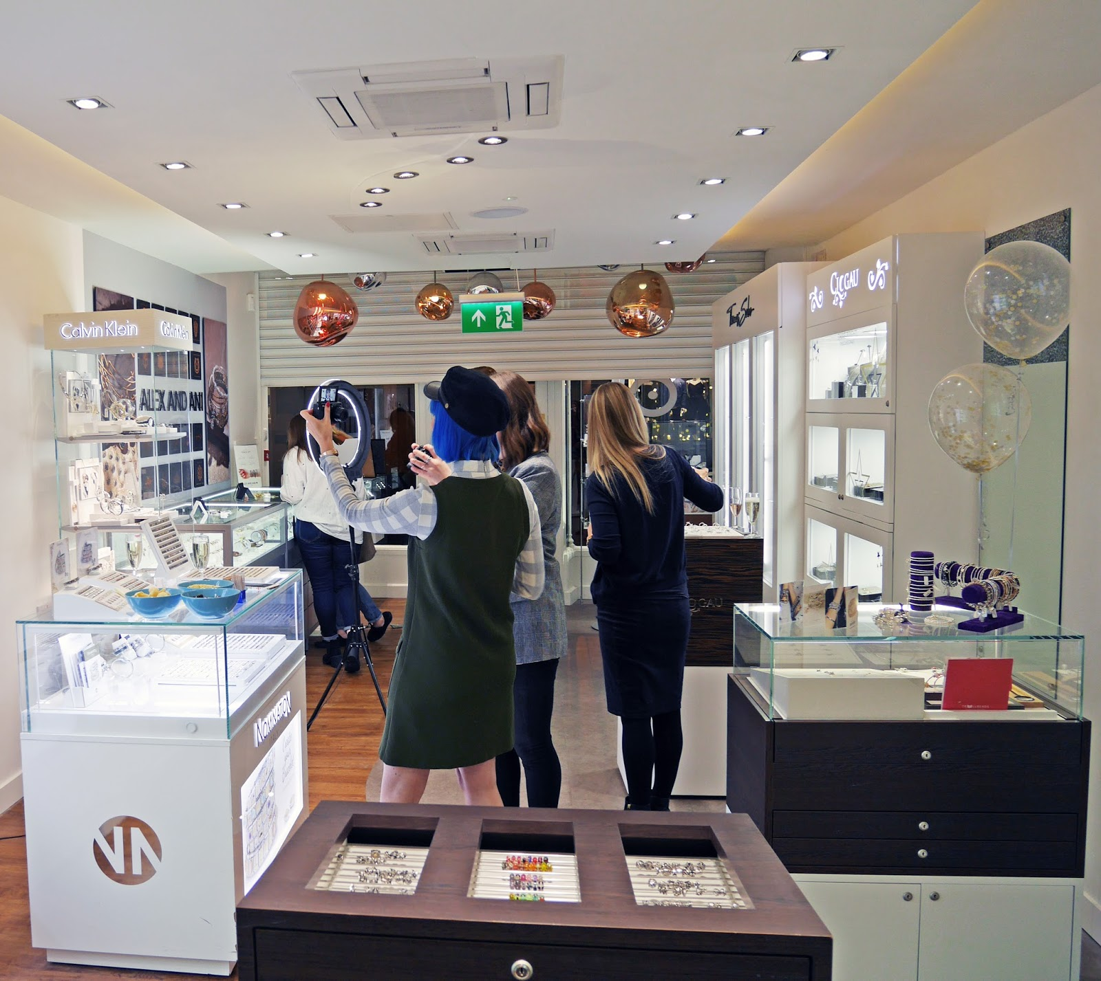 Iconic Jewellery Store bloggers event in Canterbury