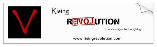 Rising Revolution Bumper Sticker