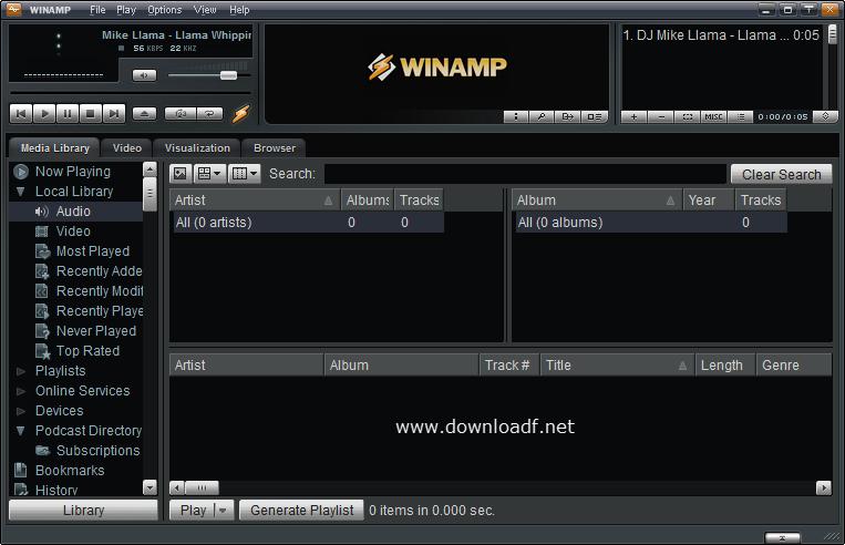 Winamp 2019 Free Download - Winamp 5 8 & Winamp 5 666