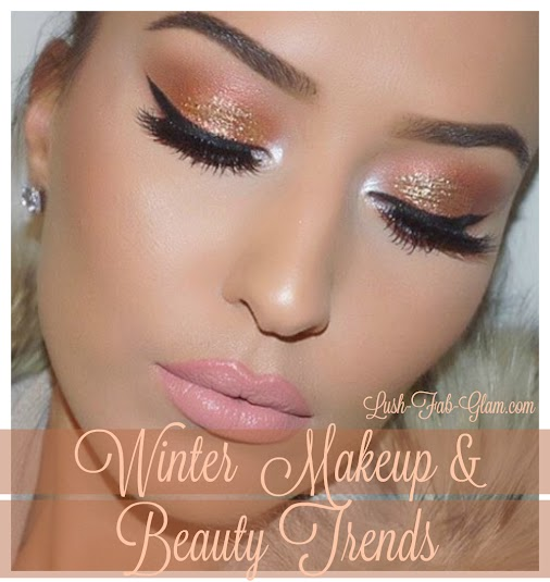 Winter Beauty Trends: Makeup looks to try now... http://www.lush-fab-glam.com/2016/01/winter-makeup-...
