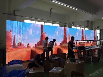 Lắp đặt màn hình led p4 chuyên nghiệp tại Lai Châu