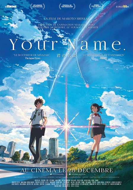 revue Your Name film d'animation