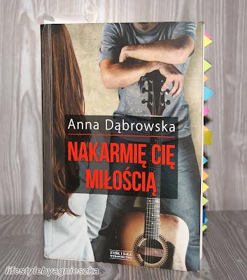 """Książkowa Sobota - """"Nakarmię Cię miłością"""" Anna Dąbrowska"""