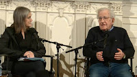 Watch: Noam Chomsky & Amy Goodman in Conversation (Credit: democracynow.org) Click to Enlarge.