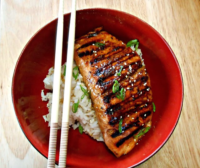 Teriyaki Grilled Salmon