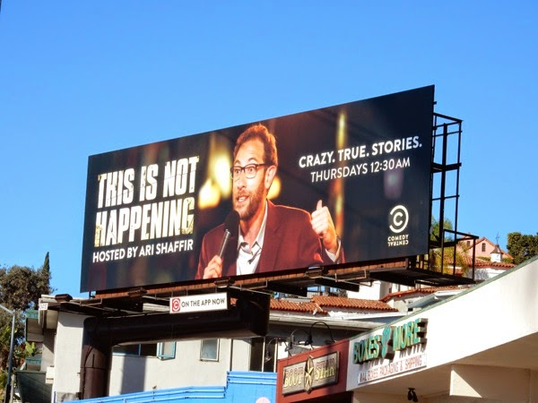 This is not happening billboard