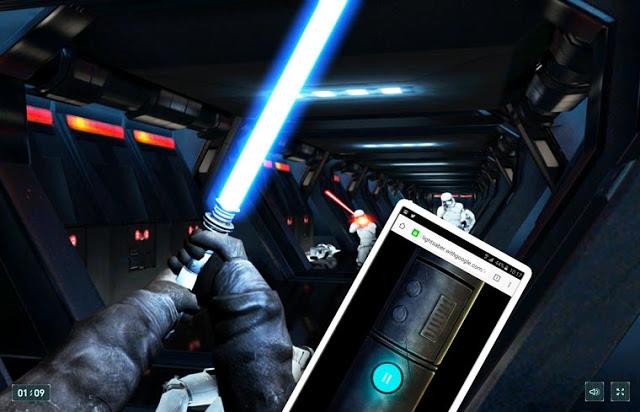 Essayez Le Jeu Pour Le Nouveau Jeu Star Wars De Google Et Votre Téléphone