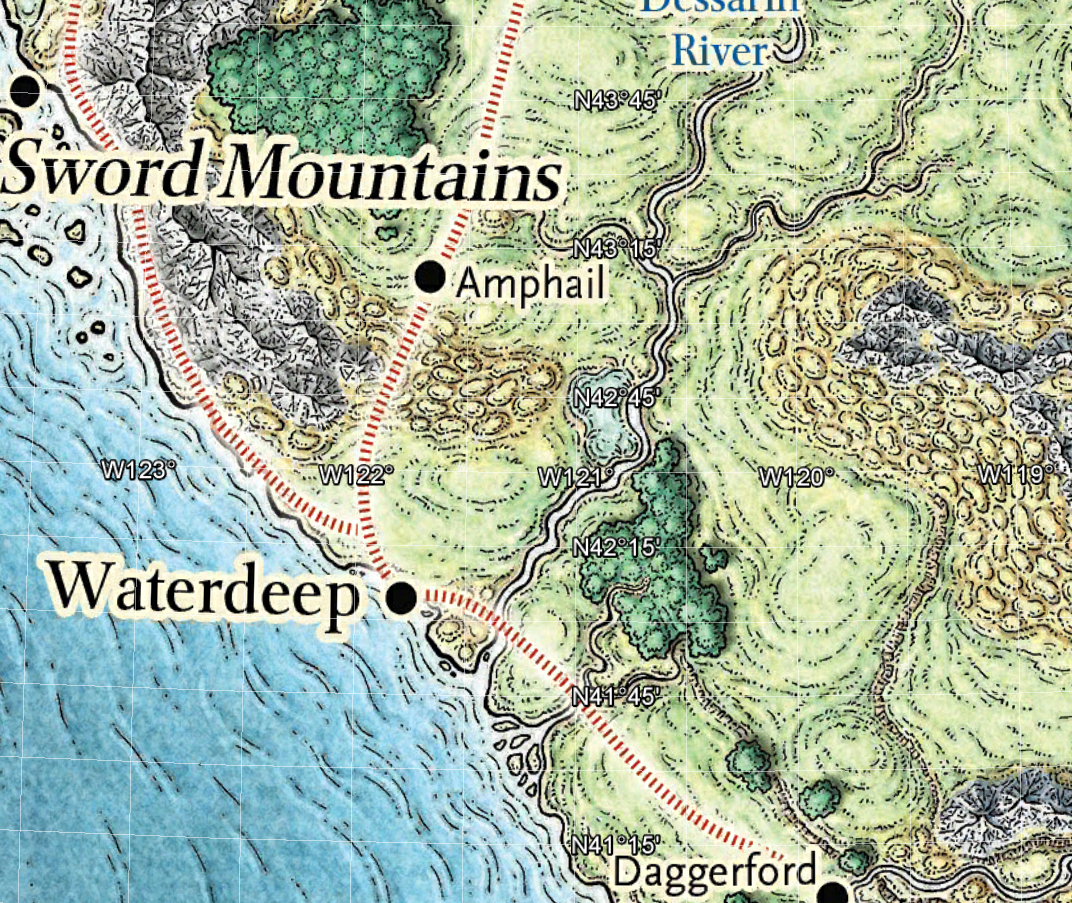 Auto Generated: Nerdy Mapping Fun with Faerun and Google Earth, Part I