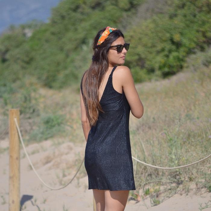 Mango dress, beach, Lara Pasarin
