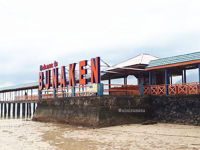 Pulau Bunakaen Manado