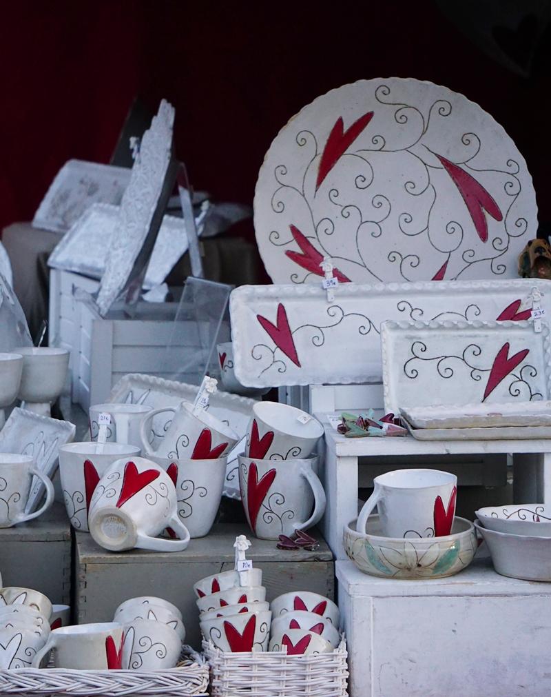 Lohja, joulumarkkinat, keramiikka