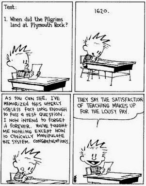 Calvin and Hobbes - The School System