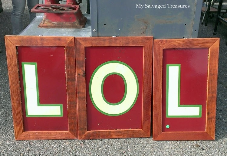 Laugh Out Loud LOL sign